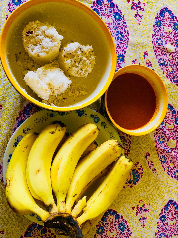 Puttu-banana